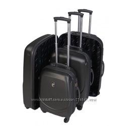 маленький чемодан чемодан LARSEN L2 черный