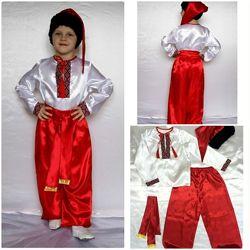 Детский карнавальный новогодний костюм Украинец 2, рост 95-130, возраст 3-8
