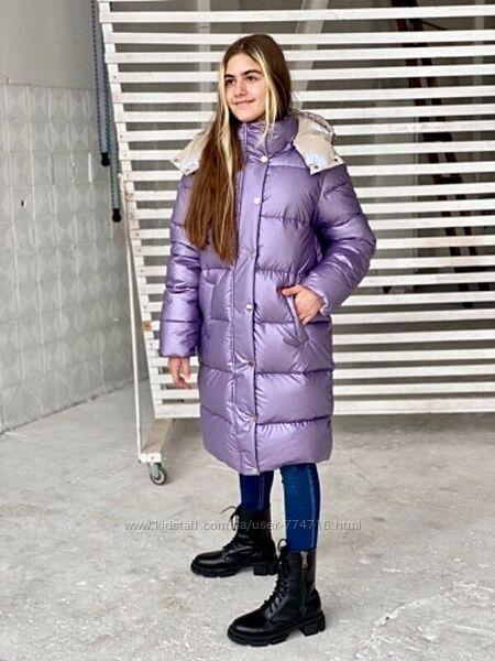 Новинка зима 2022 Зимний пуховик для девочки