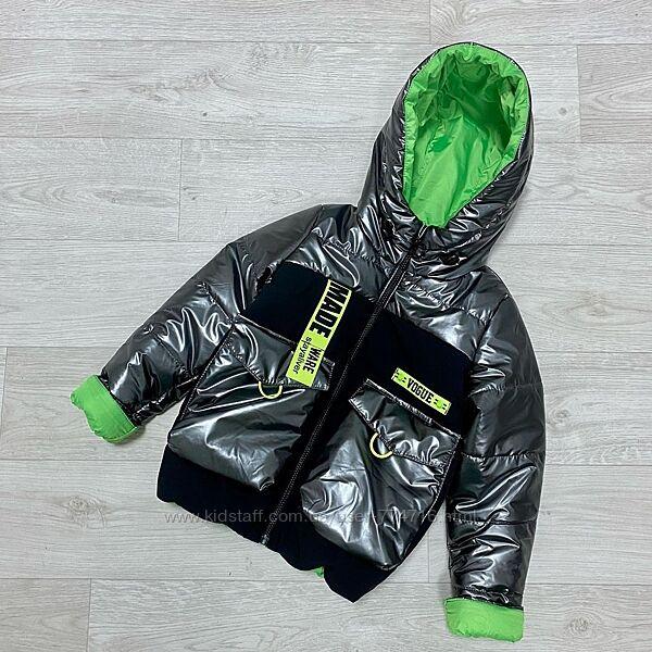 Классная Деми куртка для девочки
