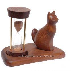 Песочные часы 5 минут со скульптурой