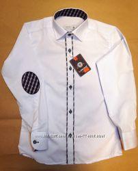 Рубашки белые детские