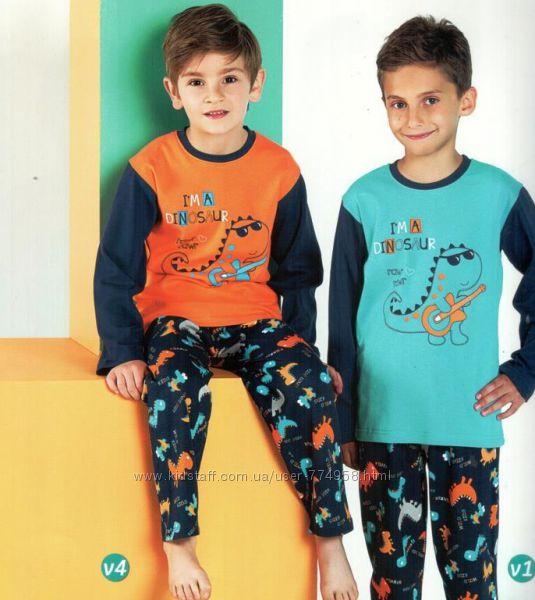 Пижамы для мальчиков 1-7 лет