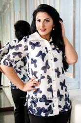 Распродажа Блуза Полина 42-44, 46-48