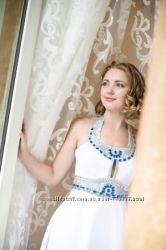 продам белое свадебное платье p. 36 s