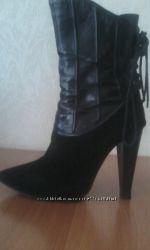 кожаные осенние ботиночки