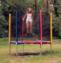Батут 244 см kidigo для детей до 120 кг
