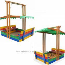 Деревянная песочница Артемон для детей