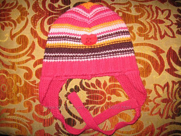 Продам Вязанная шапочка, тонкая на девочку до 50 р