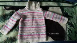 Продам теплый свитерок на девочку