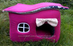 Милый домик - лежанка для собачек и кошек