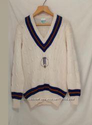 Новый пуловер для крикета толстая шерсть ваниль Jasper 52-54р
