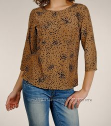 Новая нарядная золотистая блуза Fresh Made Германия 44р