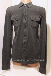Новая серая рубашка Bonobo Jeans Франция 44-46р