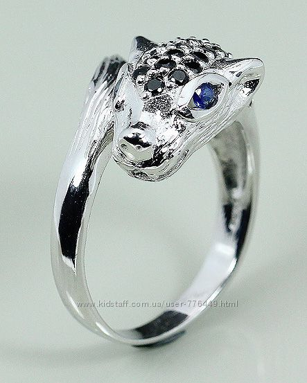 Кольцо серебро 925 позолота натуральный шпинель арт. 072