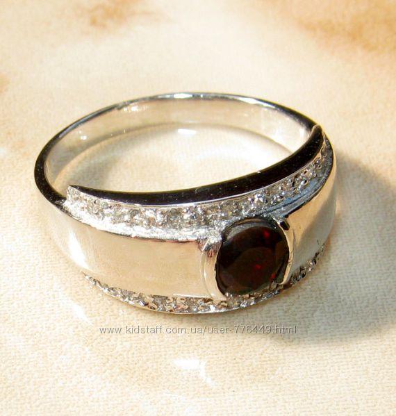 Кольцо серебро 925 позолота натуральный черный опал арт. 102