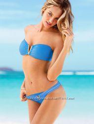 Купальник бандо Victorias Secret голубой