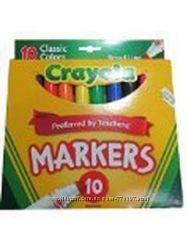 Фломастеры и карандаши Сrayola.