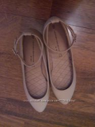 Кожаные балетки Next, 35 р