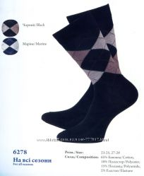 Носки мужские ТМ Легка Хода арт. 6278 р. 23-25, 27-29