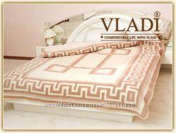 Одеяло  демисезонное жаккардовое шерсть-полушерсть ТМ Влади в наличии