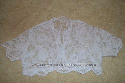Свадебное болеро-Супер нежное кружево, размер S. , M