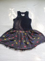 Платье сарафан marks&spencer га 7-9лет