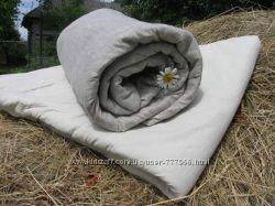 Натуральные Льняные одеяла и подушки ЛИНТЕКС