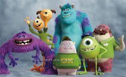 Мягкие игрушки из мультфильма Университет Монстров Monsters University