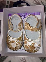 Детские кожаные туфли Pediped 6-12месяцев, новые