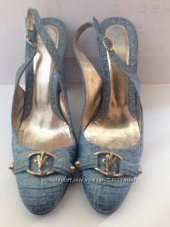 Туфли босоножки Versace Jeans Couture оригинал 38 р. не Armani, Gucci