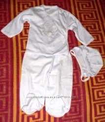 Детский крестильный комплект из 3-х предметов