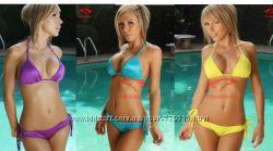 Новый изумительный купальник Голубой, Фиолетовый. Размер S, M, L