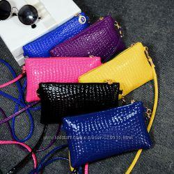 Стильные лаковые сумочки. Цвета на выбор и на заказ
