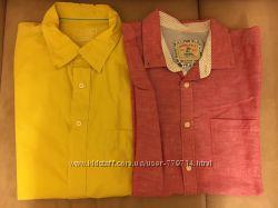 Рубашки Springfield, M&S, Hugo Boss, XXL