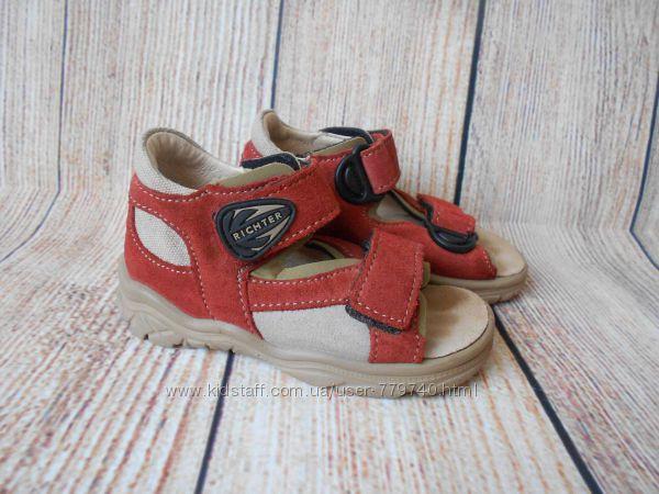 14см-21р Richter кожаные сандалии на мальчика арт. 2235
