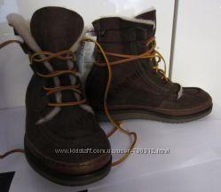 Ботинки зимние, натуральная замша ZARA MAN р-р 40 26с