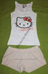 Пижама майка и шорты от H&M XS