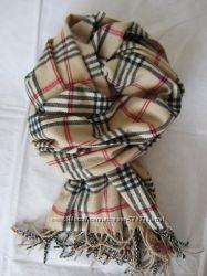 Теплый шарф CAMAIEU 200 х 50 см, шарф 35 шерсть, Италия 172 см х 76 см