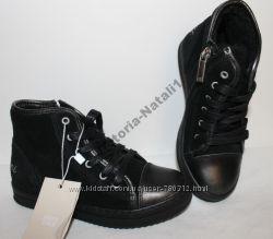 Ботинки кожа, замша ARMANI размер 31 - 20 см, р-р 32 стелька 21 см