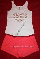 Комплект, пижама H&M ХS 44, М 46, L 48, расцветки