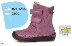 Зимние кожаные ботинки DDStep 25