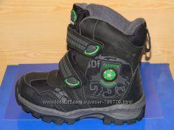 Очень теплые Польские ботинки 33-38 BLAСK