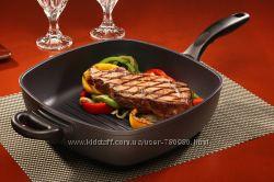 Сковорода-гриль высокая Standard 28х28 см ТМ SwissDiamond Швейцария