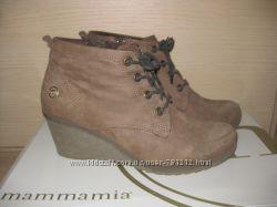 Замшевые ботинки Mammamia 37 р.