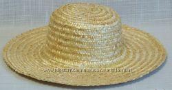 Соломяная шляпа соломяный брыль капелюх