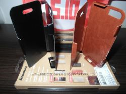 Ультратонкий чехол Iphone 4 4S 5 5S. Алюминиевый в коже Быстрая Отправка