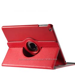 Кожаный чехол-книжка Ipad 5 Air  Пленка 4 цвета Быстрая Отправка.