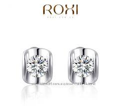 Позолоченные серьги Roxi