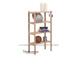 Стеллаж деревянный универсальный ЭКО 4-120